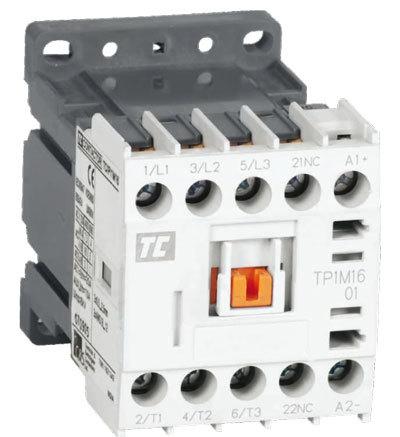 Minikontaktor 24 VDC, 4 slutande kontakter