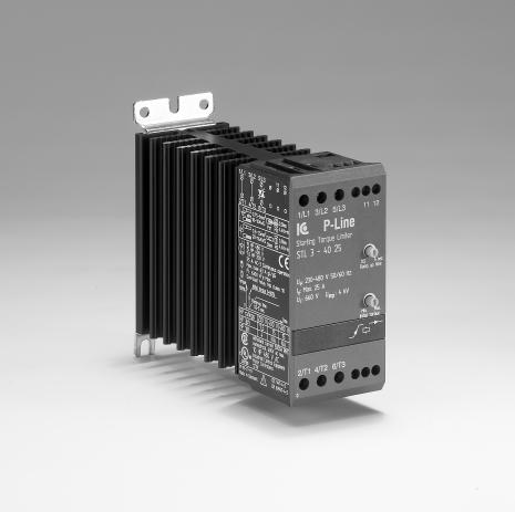 Mjukstart 230-400VAC, 7,5 kW, 15A AC3