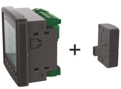 Modul med 4 digitala ingångar, 4 digitala utgångar, 5-24VDC, för MPR-4x-serien