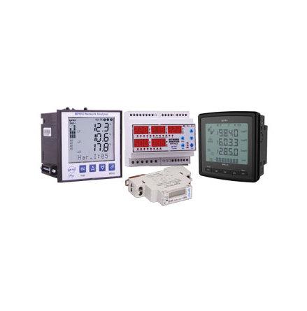 Multimeter 3-fas, Ampere, Frekvens, spänning min/max